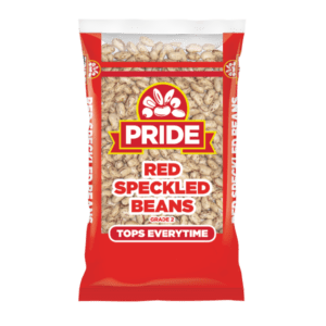 Pride Red Speckled Beans