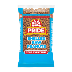 Pride Shelled Raw Peanuts