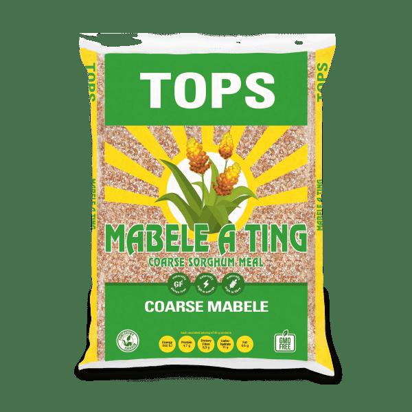 Coarse Mabele (Sorghum) Porridge